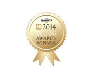 Hardys Hi – Exclusive Wedding Venue of the Year 2014
