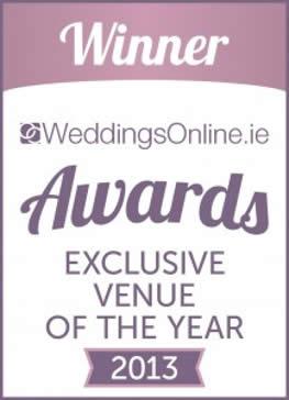 Best Exclusive Venue of the Year 2013 – Weddings Online
