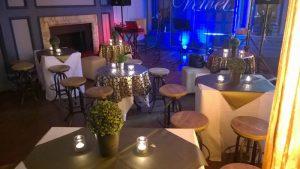 cabaret setup ballroom