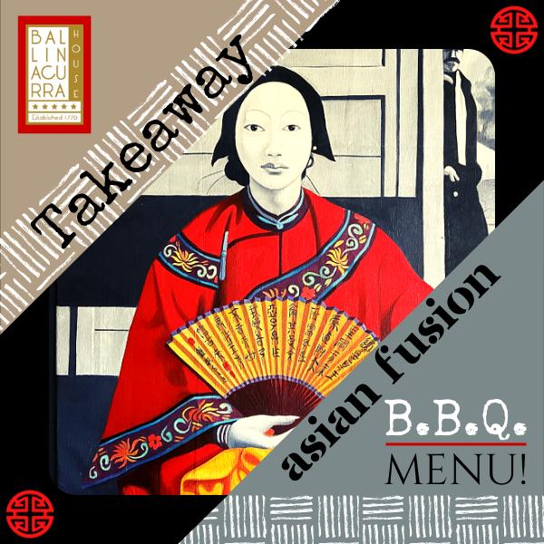 Our New Spring Asian Fusion B.B.Q. Takeaway Menu