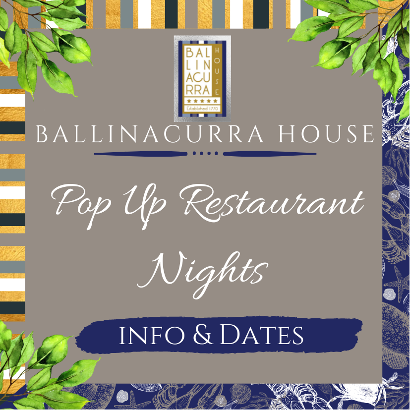Our Pop-Up Restaurant Nights are Back!